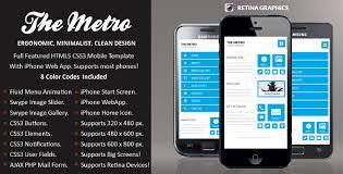 Mobile Website Templates Unique Template Smartphone Website Dabeetz