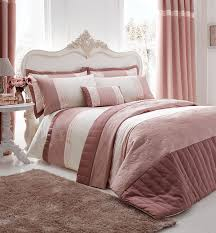 catherine lansfield gatsby luxury boudoir bedding range pink free delivery over 30 on all uk orders