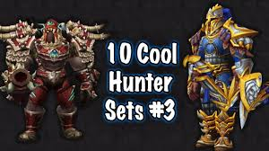 jessiehealz 10 cool hunter transmog sets 3 world of warcraft