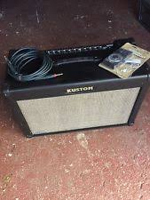kustom amp musical instruments kustom quad 100 dfx amp powered by celestion