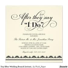 brunch wedding invitations wedding brunch invitation wording lovely day after wedding brunch