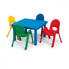 preschool table. Angeles MyValue Set 4 Preschool Square - Choose Table O