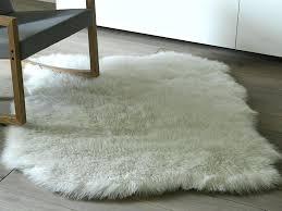 sheepskins faux sheepskin rug pink best fur white black large