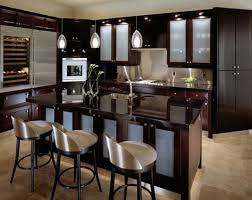 Teak Wood Kitchen Cabinets Dark Wood Kitchen Cabinets With Glass Doors Yes Yes Go