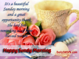 Blessed Sunday Quotes Impressive 48 Blessed Sunday Morning Quotes And Sayings