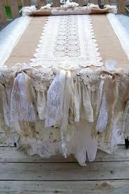 burlap and lace table cloth tablecloths burlap tablecloths rustic table linens for weddings cream color burlap and lace table cloth
