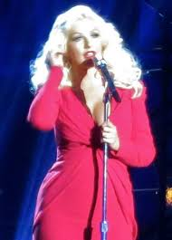 aguilera performing at the breakthrough prize in 2016