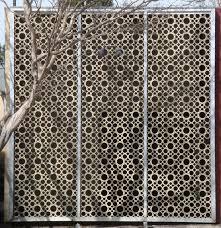 Decorative Metal Grates Decorative Screens Mid Century Modern Decorative Screen Block