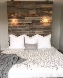 Headboard Alternative Ideas Reclaimed Weathered Wood Wood Headboard Woods And Walls