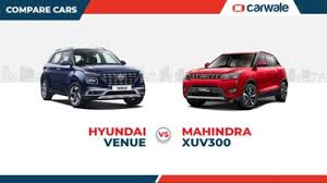 Suv Wheelbase Chart Hyundai Venue Vs Mahindra Xuv300 Engine Specs And