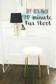 Furniture similar to ikea Froy Hackers Vanity Hack White Fur Stool You Might Have Furniture Companies Similar To Ikea Seen Like Furniture Stores Like Maromadesign Beds And Bedroom Furniture In Stock Photo Stores Besides Ikea Inside