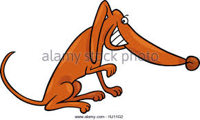 Small Picture Mongrel Dog Cartoon Illustration Stock Photos Mongrel Dog