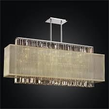 impressive rectangular shade chandelier for your house idea rectangular crystal chandelier rectangular shade chandelier