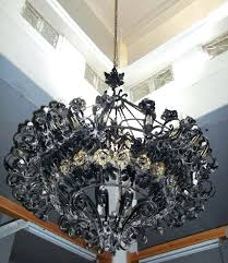 large iron chandeliers image of wrought iron chandeliers rustic large large wrought iron chandeliers with crystals