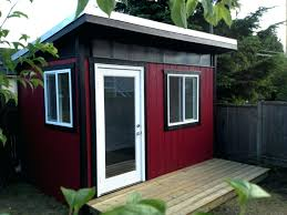 outdoor shed office. Plain Shed Backyard Office Plans Outdoor Shed Garden Floor E2 80 93 Galettedesrois  Info Charming Diy Small Ideasustin To