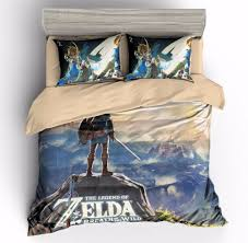 details about 3d kids bedding set the legend of zelda duvet cover sets quilt cover pillow case