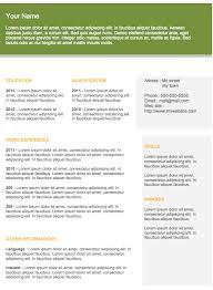 Modern Resume Downloads Modern Resume 21 Curriculum Vitae