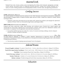 Cook Resume Sample Line Cook Resume Sample For Study At Cooks All Simple shalomhouseus 40