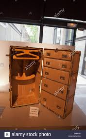 Suitcase With Drawers Large Vintage Cruise Suitcase With Hangers And Drawers In