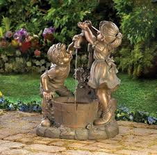 patio fountains for 241 best garden fountains images on garden fountains