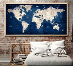 large wall world map large prints for wall large world map wall map map map large