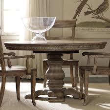 Pedestal Dining Table Hooker Furniture Sorella Round Dining Table With Pedestal Base And