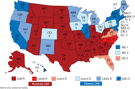 2012 Election Chart Projection Obama Will Likely Win Second Term Larry J