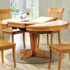 dining room tables with built in leaves round kitchen table erfly leaf lazy susan leav