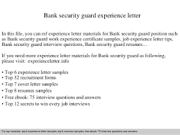 Job Experience Certificate Sample Doc Best Of Securit As Job