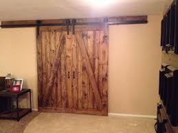 barn doors allow privacy when needed