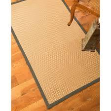 naturalarearugs dorset custom wool sisal rugs 4 x 6 sienna border