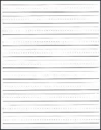 Writing Lines For Kindergarten School Writing Paper Template Andrewhaslen Co