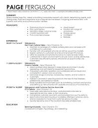 Sales Job Resume Retail Skills For Examples Format Ukrterminalpro