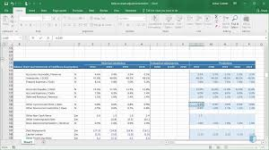 Online Balance Sheet Projecting The Balance Sheet Online Financial Modeling Training