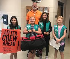 MJ Girl Scouts create trash pickup kit | Community | wilsonpost.com