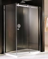 lineaaqua abbie 48 x 32 sliding frameless glass shower enclosure