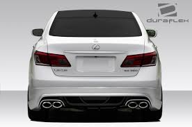 Duraflex Es350 Am-s Rear Bumper Body Kit 1 Pc For ES Series Lexus ...