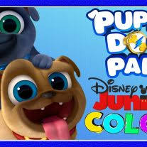 Coloring Page Puppy Dog Pals Coloring Page Activity Disney Family