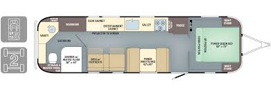 2017 Airstream Classic 33 Floor Plan