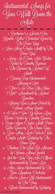 best 25 wedding processional songs ideas on pinterest Wedding Ceremony Songs Contemporary 15 *instrumental* songs to play for your walk down the aisle oh my contemporary songs for wedding ceremony