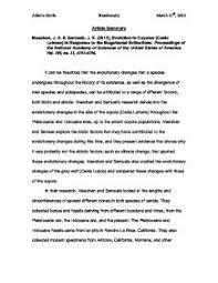 Summary essay outline   Academic