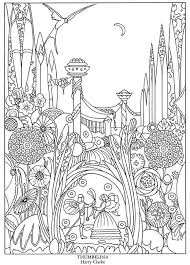 Fairy Tale Free Coloring Pages On Art Coloring Pages