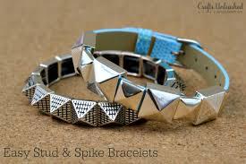 diy stud bracelet crafts unleashed