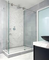 modern frameless shower doors. Perfect Frameless Shower Door For Your Bathroom | The Woodlands Home Remodeling SCM Design Group Modern Doors S