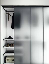 good glass closet door idea sliding barn curtain p i n 2 frosted good for privacy but still