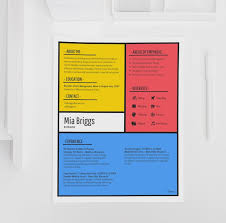 creative design resumes 15 resume design tips templates examples venngage