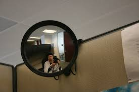 cubicle mirror.  Cubicle Cubicle Mirror  By Egg On Stilts On Cubicle Mirror A