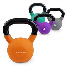 Weights Measures Chart Body Power Neoprene Covered Kettlebell Choose From 8 Weights