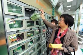 Fresh Food Vending Machine Adorable No Crowds No Hours Buying Fresh Food By Machine Shanghai Daily
