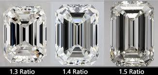 Emerald Cut Diamonds Buying Guide Cut Proportions Chart